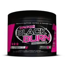 STACKER2 BLACK BURN MICRONIZED 300g Dose