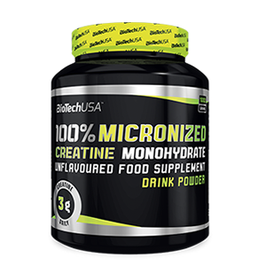 BT 100% Creatine Monohydrate 300g Dose