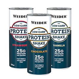 WEIDER LOW CARB PROTEIN SHAKE 250ml DOSE