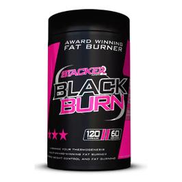 STACKER2 BLACK  BURN 120 Caps
