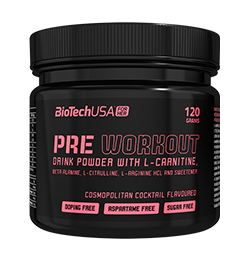 "BT ""FOR HER"" PRE WORKOUT 120g Dose"