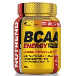 Nutrend BCAA Energy Mega Strong Powder 500g Dose