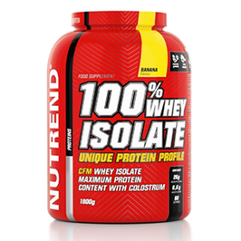 Nutrend 100% Whey Isolate 908g Dose