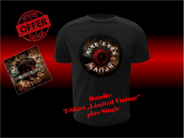 "T-Shirt Bundle ""Limited Vintage"" PLUS Single"