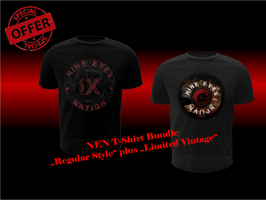 "T-Shirt Bundle ""Regular Style"" PLUS ""Limited Vintage"""