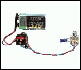 Micro musichtech MT-01 pour les basses (main gauche)