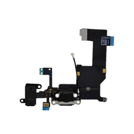 IPhone 5S Charger Port Flex Cable Black HK