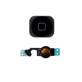 iPhone 5 Home Button With Flex Cable Black HK