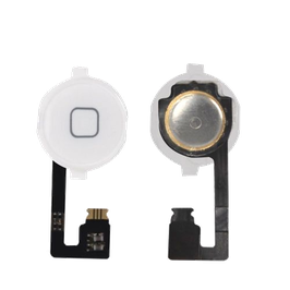 iPhone 4G Home Button With Home Button Flex Cable White HK