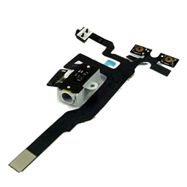 iPhone 4GS Headphone Audio Jack Flex Cable White HK