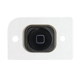 iPhone 5 Home Button with Rubber Black HK