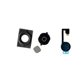 iPhone 4GS Home Button With Flex Cable Black HK