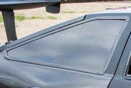 AE86 3D用 カーボンジャンキーリヤサイドウインドウ(モール付)