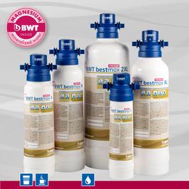bestmax  – PREMIUM – Filterkerze mit der Aroma PLUS - Formel water + more