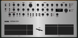 """Korg MiniLogue Midi Editor / Controller"" (Vst, AU  and Standalone)"