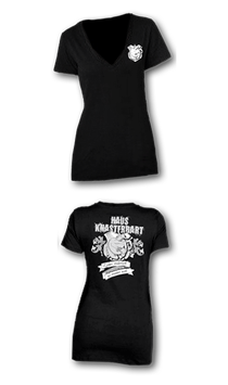 "Shirt - ""Haus Knasterbart"" (Horst als Wappentier) - Gossendirne"