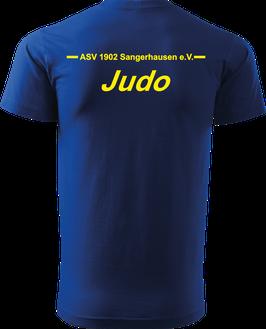 T-Shirt Heavy, Judo, royal blau