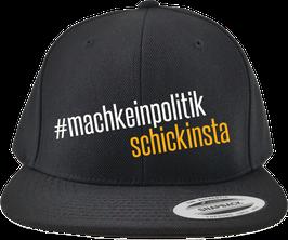 #machkein_Snapback, schwarz