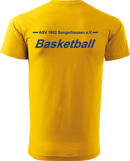 T-Shirt Heavy, Basketball, royal blau