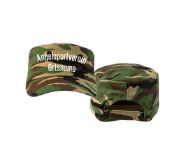 "Cap Camo braun ""Angelsport"""