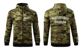 "Zipper Camo grün ""Angelsport"""