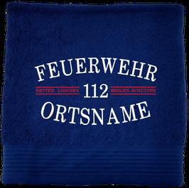 Handtuch / Duschtuch Feuerwehr Motiv 6