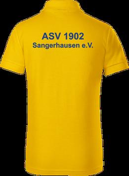 Kinder Poloshirt, gelb