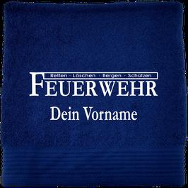 Handtuch / Duschtuch Feuerwehr Motiv 4
