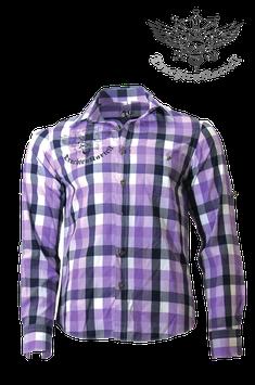 Trachtenkartell Karohemd Purple