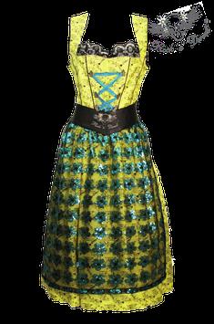 Dirndl Agnes Bernauer / yellow