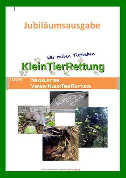 Newsletter 1/2019 Jubiläumsausgabe als Broschüre