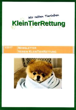 Newsletter 1/2017 als Broschüre