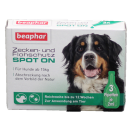 Zecken-/Flohschutz große Hunde