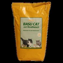 basu-cat Alleinfutter mit Rind
