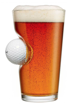 Golf Ball Glass