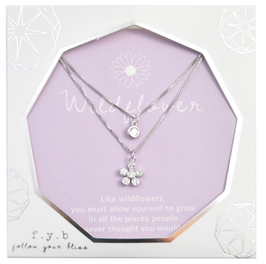 Lily Layer Wildflower Necklace