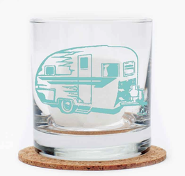 Trailer Whiskey Glass