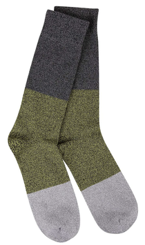 Green Stripe with Gray