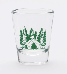 Camping Shot Glass