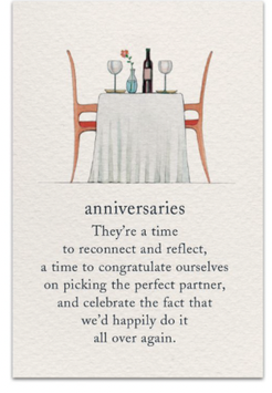 Table Anniversary