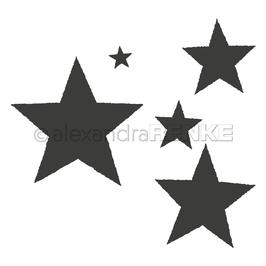 Die *Büttenrand Sterne*