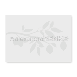 Prägefolder/Embossing Folder *Zitronenzweig* Alexandra Renke