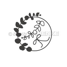 Die *Eukalyptus-Kranz mit Schleife*