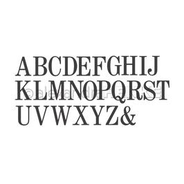 Die *Serifen Alphabet*
