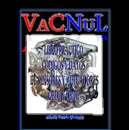 Libro de Consultas Técnicas este documento contiene, Localización de Conectores, algunos datos técnicos de fabricantes de algunos sensores y actuadores, Códigos de fallas OBDI y OBDII