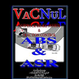 Libro técnico de Frenos Antibloqueo y Control de Tracción ABS& TRC alrededor de mas de 8 sistemas diferentes