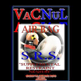 """Libro de Análisis de Sistemas AIR BAG """"Bolsas de Aire"""" y control de Cinturón"""