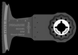 BIM INVALZAAGBLAD HOUT & METAAL 65 X 40 - 1.3MM