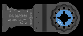 BIM INVALZAAGBLAD METAAL-INOX-RVS 32 X 40 - 1.1MM