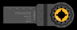 HCS INVALZAAGBLAD HOUT 24 X 50 - 1.3MM